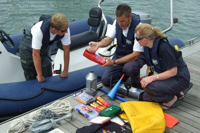 RYA Sea Survival Books